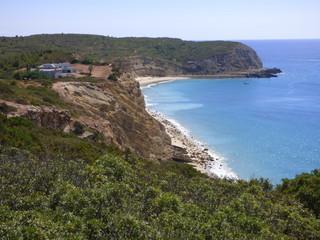 Cabanas Velhas y Forte Almeida  (Portugal) en Burgau, Lagos, en la región portuguesa del Algarve