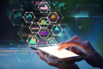 Network and future concept