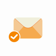 Check email mark ok icon