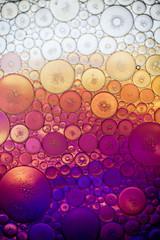 organic abstract macro bubbles texture