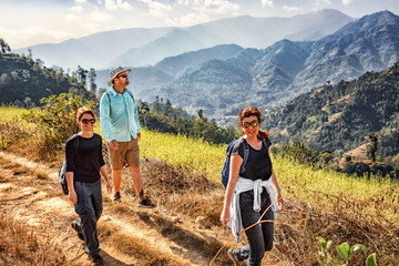 Trekking East of Kathmandu, Nepal