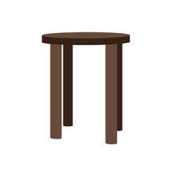 Perspective 3D looks of single seat furniture vector assets