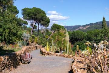 Conception garden, Jardin la concepcion in Malaga, Spain.