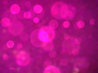 pink bubble dimension bokeh blur background