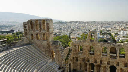 Dionysostheater bei Tag 1