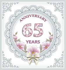 Happy Birthday 65 years