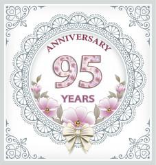 95 years anniversary