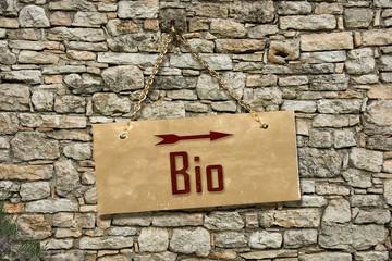 Schild 235 - Bio