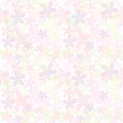 桜のシームレスパターン背景