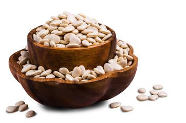 Large white dry beans