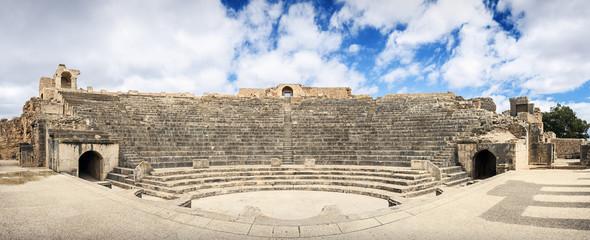 Africa, Tunisia, Dugga. Ancient Roman theater.