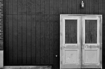 Urban B|W The Silver Door