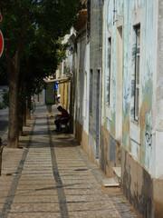 Portimao (Portugal) ciudad del Algarve con casco antiguo y puerto deportivo