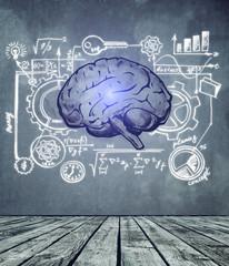 Brainstorm and success concept