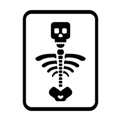 medical tomography simple line icon