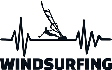 Windsurfing heartbeat pulse