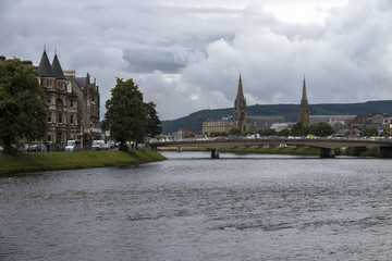 Inverness, Scottish Highlands. Scotland, United Kingdom. August 2016