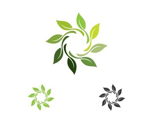 ecology nature element vector icon