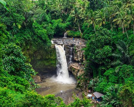 Tegenungan Waterfall on the island of Bali in Indonesia