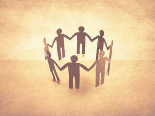 unity of paper human teamwork