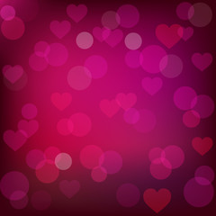 vector abstract st. valentine's background