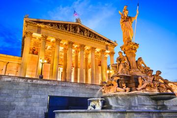 Vienna, Wien - Parliament ofAustria