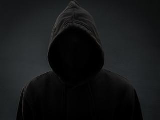 A killer in the dark. Horror