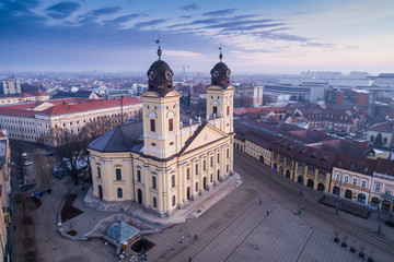 Reformed Great Church in Debrecen city, Hungary