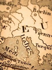 古い世界地図 イタリア