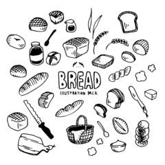 Bread Illustration Pack
