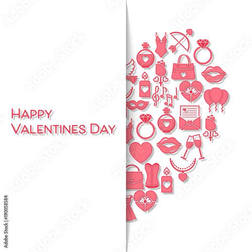 Valentinstag Karte   Herz