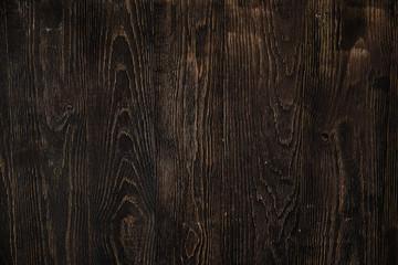 Dark wood board use for background. Loft dirty