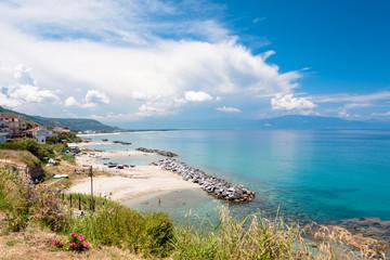 Küstenlandschaft bei Pizzo