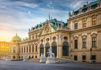 Wall Murals Vienna Belvedere Palace, Vienna, Austria.