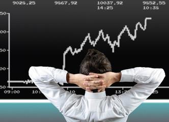 Broker erfreut über Aktienkurs an Börse