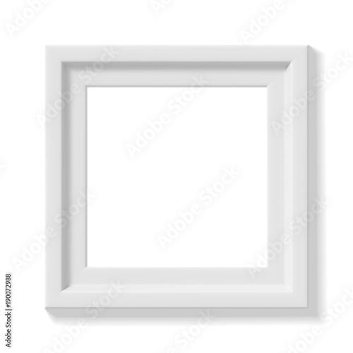 white square picture frame - White Square Picture Frames