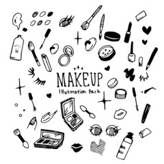 Make Up Illustration Pack