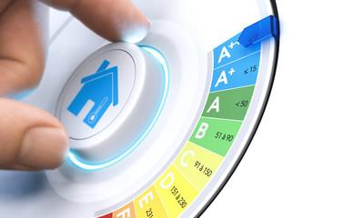 Travaux de rénovation et d'amélioration énergétique de l'habitat.
