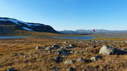 Vistasvagge Tal Schweden Lappland