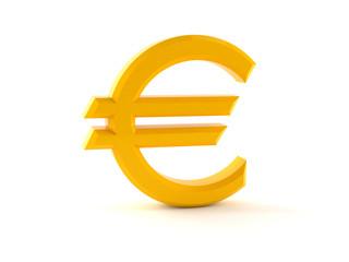 Euro gold concept