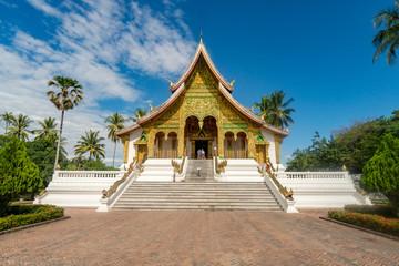 Temple of the Phra Bang Buddha image, Luang Prabang, Laos.