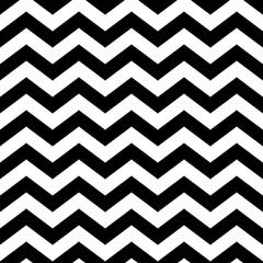 Memphis style chevron zigzag seamless pattern.