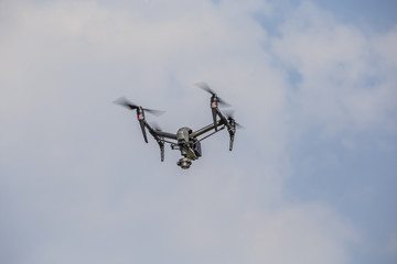 Bird's eye view with Drones