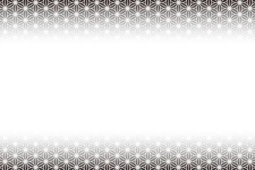 背景素材,麻の葉,和風イメージ,柄,パターン,日本風,コピースペース,東洋,伝統模様,中抜,広告,雅