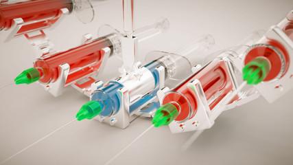 syringe production line and one unique sqiurt concept