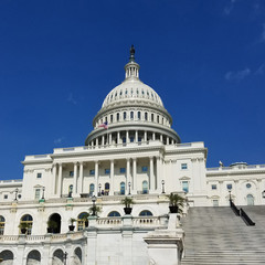 United States Capitol Building, on Capitol Hill in Washington DC, USA.