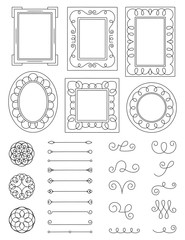 Doodle Frames and Elements