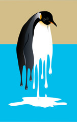 Melting Penguin