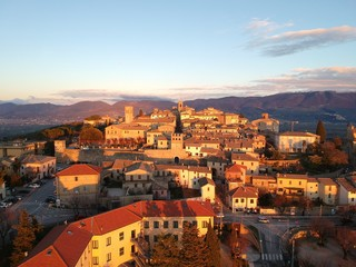 Montefalco, Umbria, Italy. The center of winemaking of Umbria