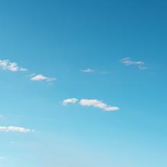Fototapete - white cloud on sky